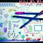 BulletJournal, BUJO, Doodles, Pens, Art