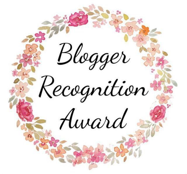 Blogger, recognition, award