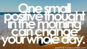 Positivity, mood